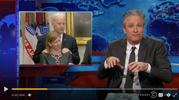 The Audacity of Grope: with Jon Stewart